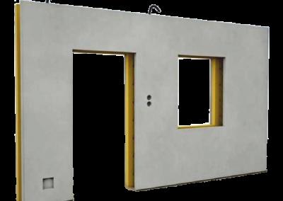Трехслойные утепленные стеновые панели
