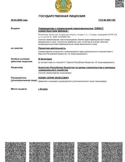 DCS-Лицензия Проект-1