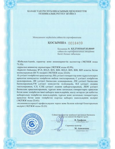 ISO 9001 2015-Сапа менеджменті жүйелері-2